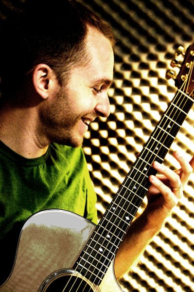 Ben Westfall teaches guitar lessons at Da Capo Music Studio