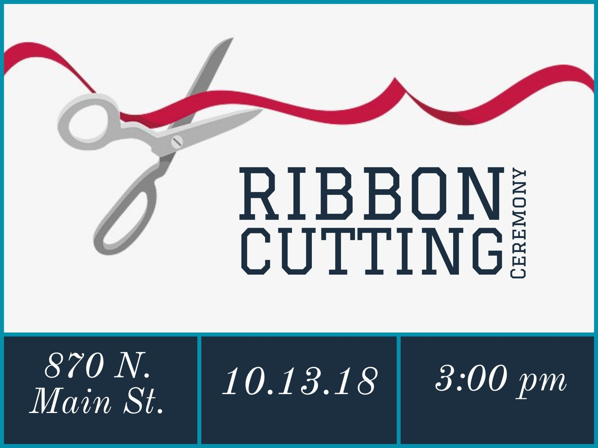 New Studio Ribbon Cutting