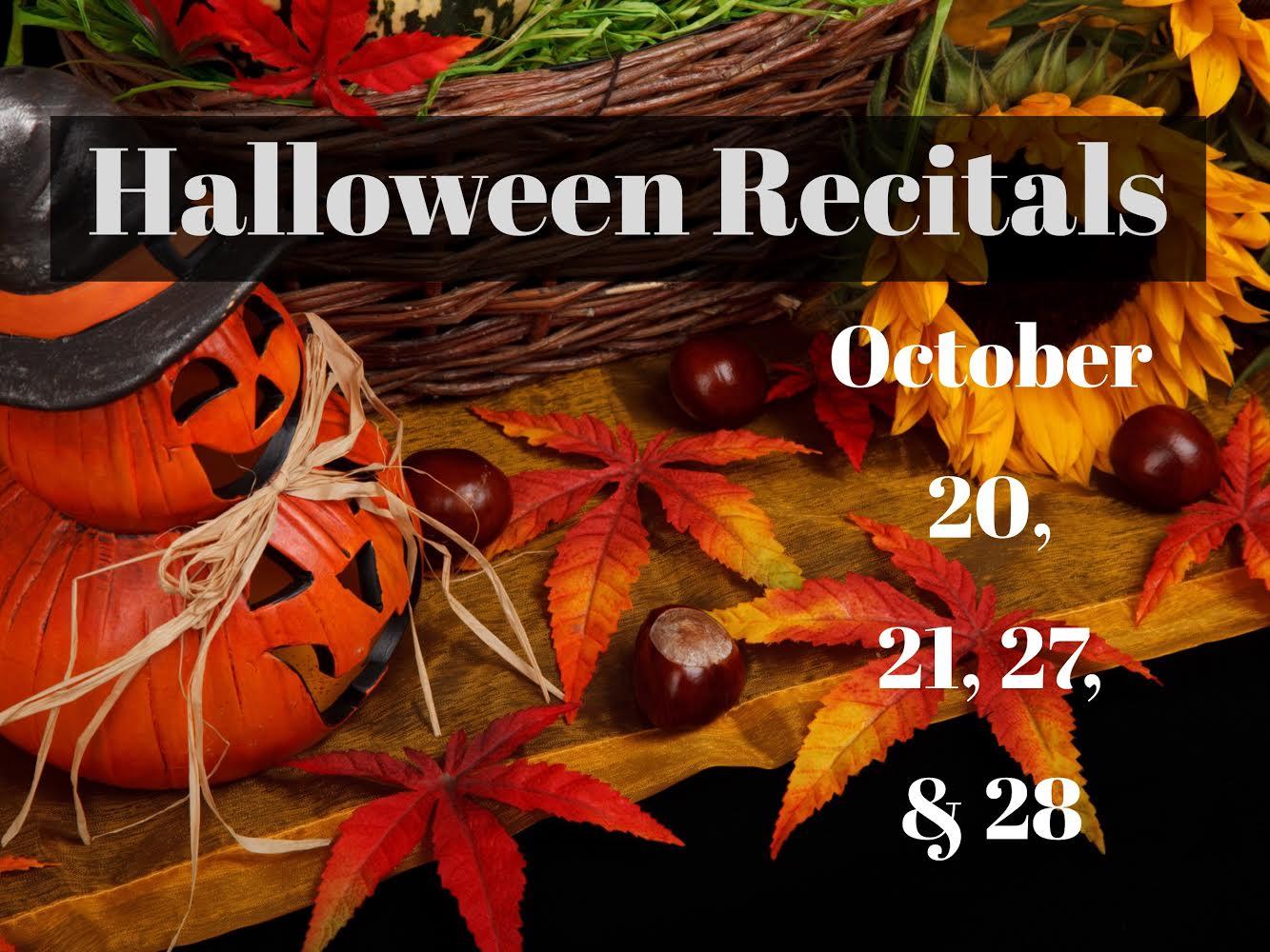 halloween recitals