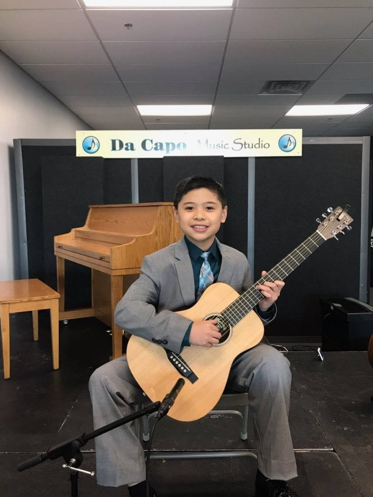 Marcus Simbol-Solo Guitar & Voice Recital March 2019