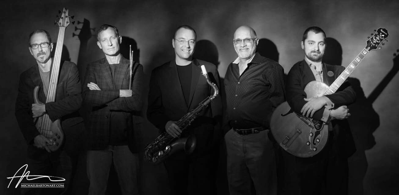 Saxophone and Clarinet Instructor Joel Moore with his band, Magentic