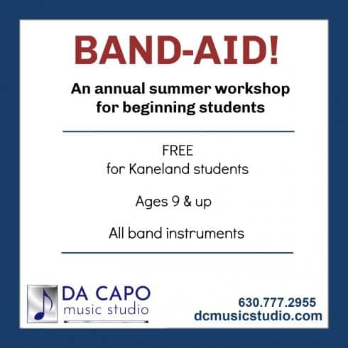 Band - Aid Da Capo Music Studio